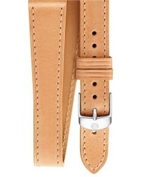 Michele - 18mm Leather Wrap Watch Strap - Lyst