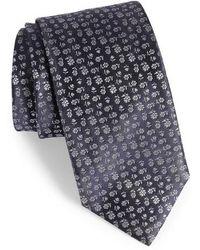 Canali - Floral Silk Tie - Lyst