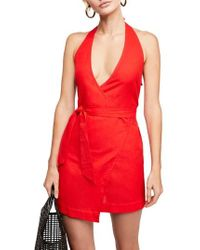 Free People - Endless Summer By Fine Lines Minidress - Lyst