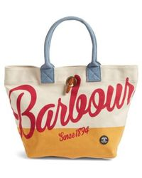 Barbour - Single Shopper Tote - Lyst