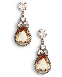 Sorrelli - Nigella Crystal Drop Earrings - Lyst