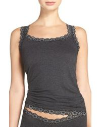 Hanky Panky - Classic Heather Jersey Camisole - Lyst