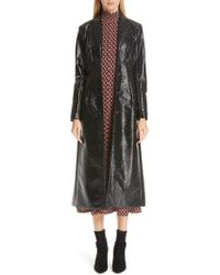 Beaufille - Coated Cotton Trench Coat - Lyst