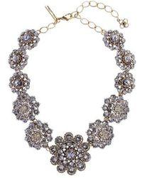 Oscar de la Renta - Swarovski Crystal Collar Necklace - Lyst