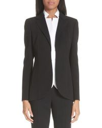 Akris | 'pentagon' Double Face Wool Jacket | Lyst