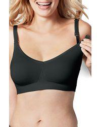 c818bd2114537 Lyst - Bravado Designs Maternity  body Silk  Seamless Nursing Bra in ...