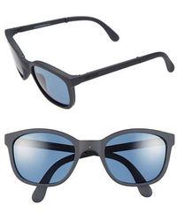 Sunpocket - 'tonga' 53mm Folding Sunglasses - Ocean Dark - Lyst