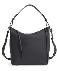 AllSaints - 'kita' Leather Shoulder/crossbody Bag - Lyst