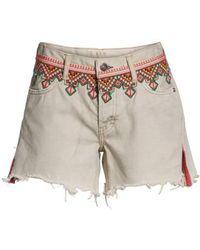 Free People - Borderline Cutoff Denim Shorts - Lyst