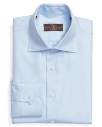 Robert Talbott - Tailored Fit Solid Dress Shirt - Lyst