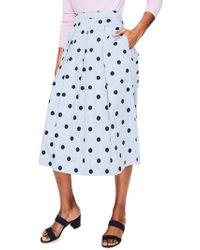 Boden - Lola Floral Flared Skirt - Lyst