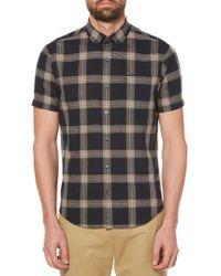 Original Penguin | Textured Lawn Plaid Shirt | Lyst