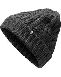 The North Face - Minna Cable Knit Beanie - Lyst