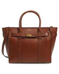 Mulberry - Small Bayswater Leather Satchel - - Lyst