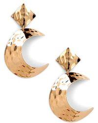 Sole Society - Lunar Statement Earrings - Lyst