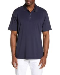 Cutter & Buck - Forge Drytec Classic Fit Solid Performance Polo - Lyst
