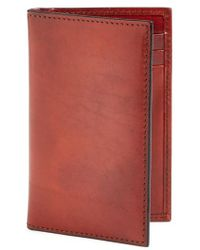 Bosca - 'old Leather' Card Case - Lyst