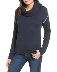 Rip Curl - Leah Roll Neck Sweater - Lyst