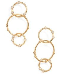 Melinda Maria - Link Drop Earrings - Lyst