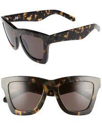 Valley Eyewear - 'db' 49mm OverIndio Tortoise/ Black - Lyst