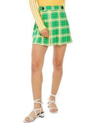 TOPSHOP - Plaid Skirt - Lyst
