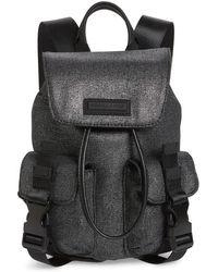 Kendall + Kylie - Mini Parker Metallic Canvas Backpack - - Lyst