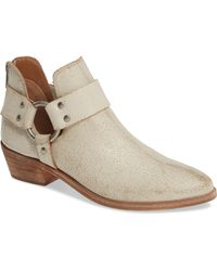 Frye - Ray Low Harness Bootie - Lyst