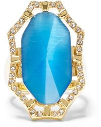 Vince Camuto - Large Cat's-eye Cocktail Ring - Lyst