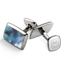 M-clip - M-clip Stainless Steel Cuff Links - Lyst