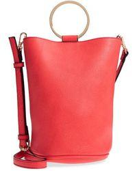 mali + lili - Mali + Lili Ilia Vegan Leather Ring Handle Bucket Bag - - Lyst