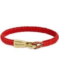 Caputo & Co. | Woven Bracelet | Lyst