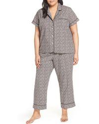 J.Crew - Ditsy Dot Short Sleeve Pajama Set - Lyst