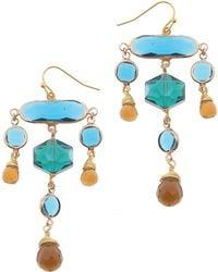 Nakamol - Crystal Statement Earrings - Lyst