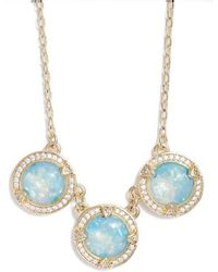 Melinda Maria - Juile Opal & Crystal Pendant Necklace - Lyst