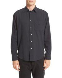 Rag & Bone - Standard Issue Solid Sport Shirt - Lyst