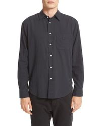 Rag & Bone | Standard Issue Solid Sport Shirt | Lyst