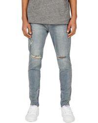 Zanerobe - Sharpshot Slouchy Slim Fit Jeans - Lyst