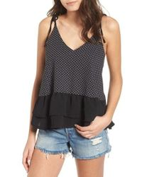 Lost Ink - Print Camisole - Lyst