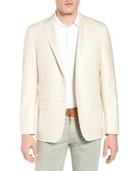 Hickey Freeman - Classic B Fit Wool & Silk Blazer - Lyst