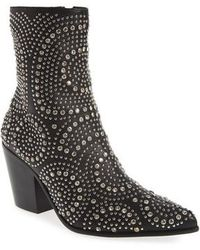 Jeffrey Campbell - Ace-sj Embellished Bootie - Lyst