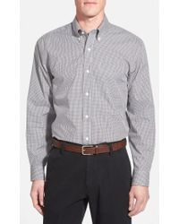 Cutter & Buck - 'epic Easy Care' Classic Fit Wrinkle Free Gingham Sport Shirt - Lyst