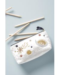 Anthropologie - Claire Embellished Pencil Pouch - - Lyst