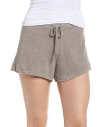 Barefoot Dreams - Barefoot Dreams Cozychic Ultra Lite Lounge Shorts - Lyst