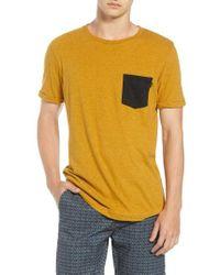 Scotch & Soda - Nep Jersey Pocket T-shirt - Lyst
