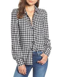 PAIGE - Enid Check Shirt - Lyst