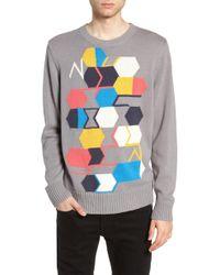 The Rail - Geo Pattern Sweater - Lyst