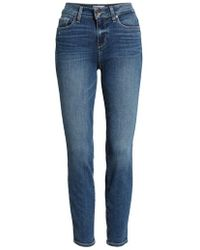 PAIGE - Verdugo Ankle Skinny Jeans - Lyst