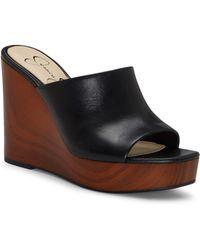Jessica Simpson - Shantelle Wedge Slide Sandal - Lyst