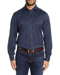 Corneliani - Classic Fit Knit Sport Shirt - Lyst