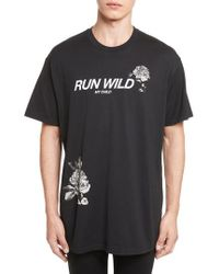 Givenchy - Run Wild Graphic T-shirt - Lyst